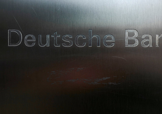 Logo de Deutsche Bank (archivo)