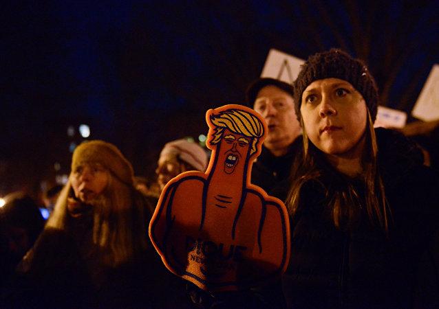 Protestas contra el decreto migratorio de Trump