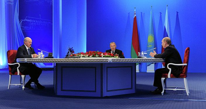 Una reunión de los jefes de estados miembros de la UEE