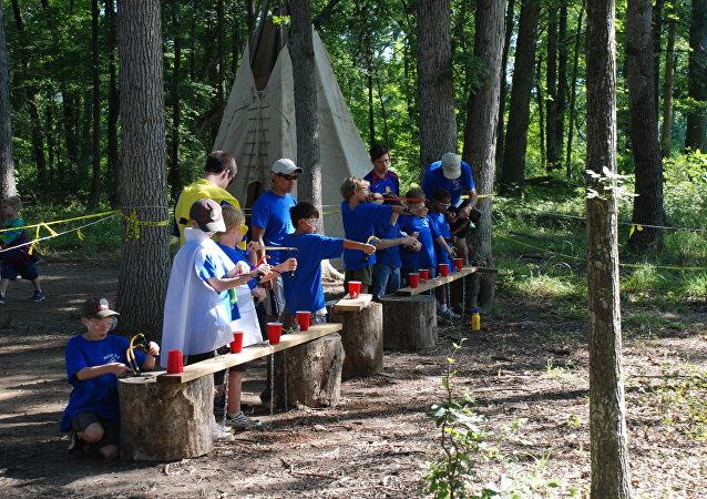 Campamento scout