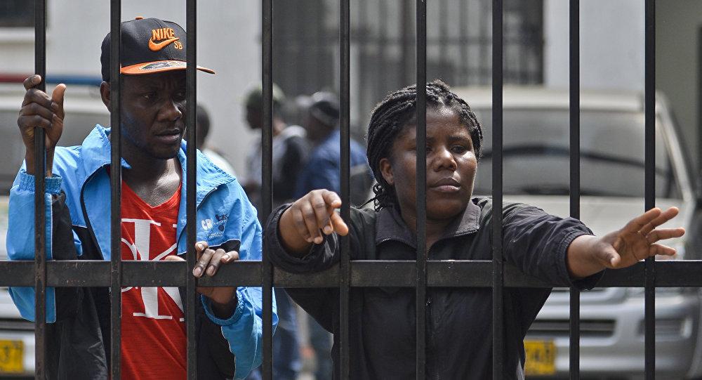 Los migrantes haitianos (archivo)
