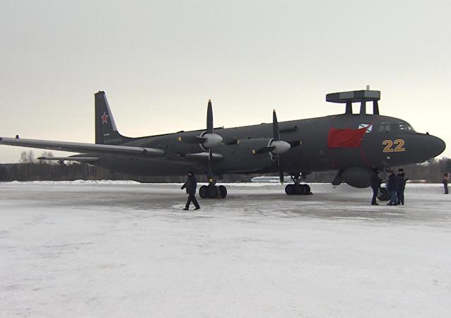 Un avión de guerra antisubmarino Il-38N recibe nuevo nombre