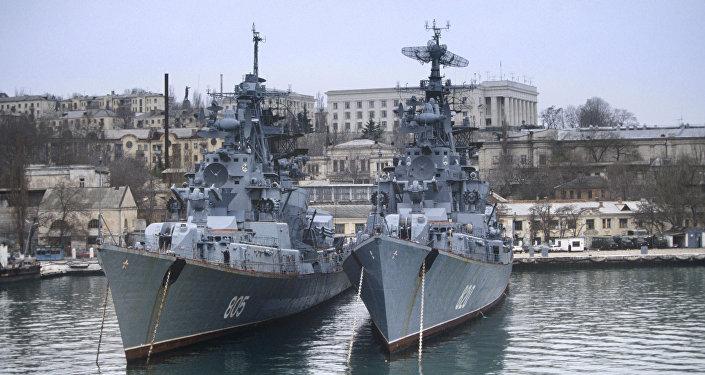 Buques de la Flota rusa del mar Negro