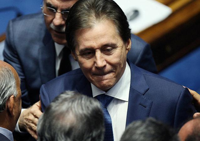 Eunício Oliveira, nuevo presidente del Senado brasileño