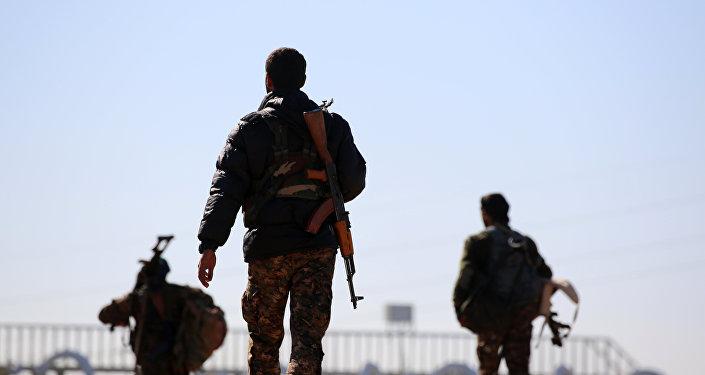 Fuerzas Democráticas sirias en Al Raqa (archivo)