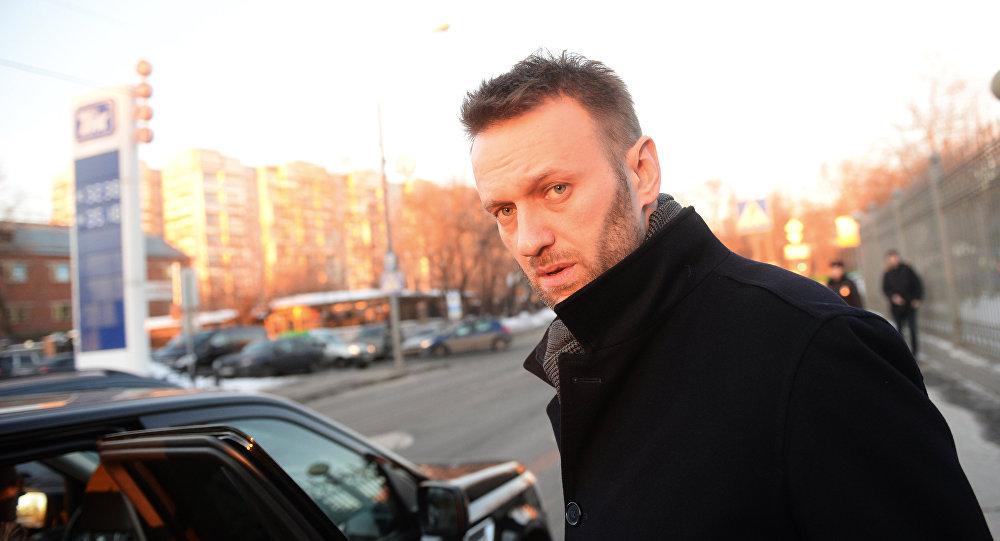 Alexéi Navalni, opositor ruso (archivo)