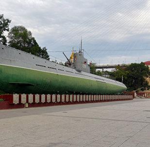 Un submarino ruso S56