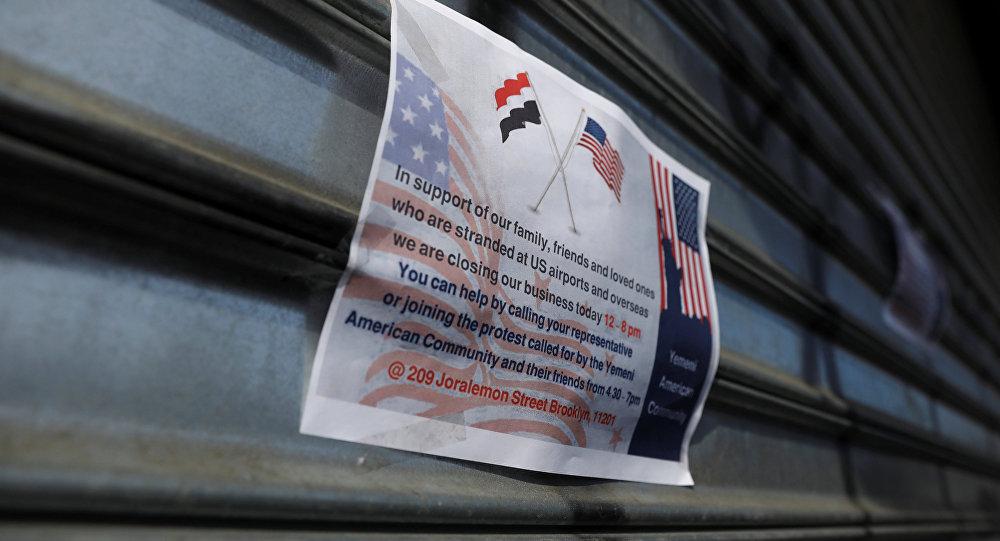 El cierre de comercios yemeníes en Nueva York