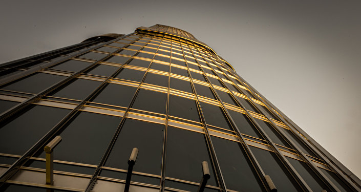 Un rascacielos en Dubái