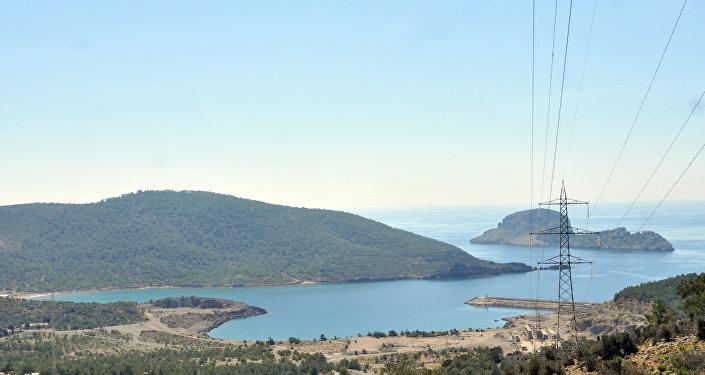 Valle de Akkuyu en el sur de Turquía