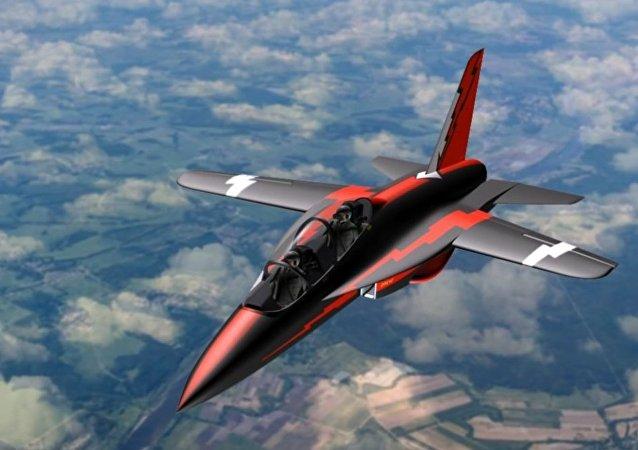 Avión de entrenamiento SR-10 (imagen referencial)