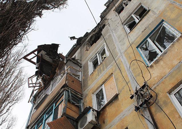 Situación en Donbás tras bombardeos