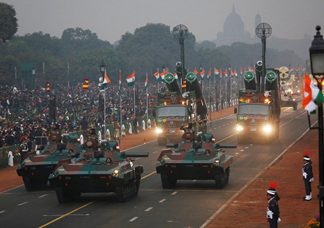 Las FFAA de la India