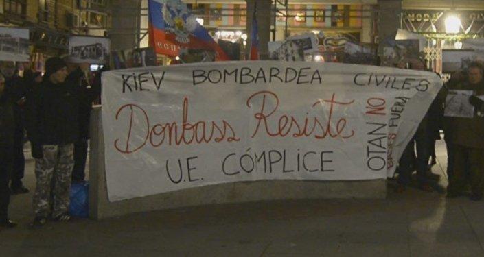Madrid se solidariza con el pueblo de Donbás