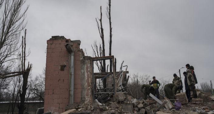 La situación en Donetsk