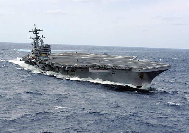 El portaviones estadounidense George Bush