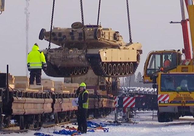 El equipo de la OTAN ya está en Estonia