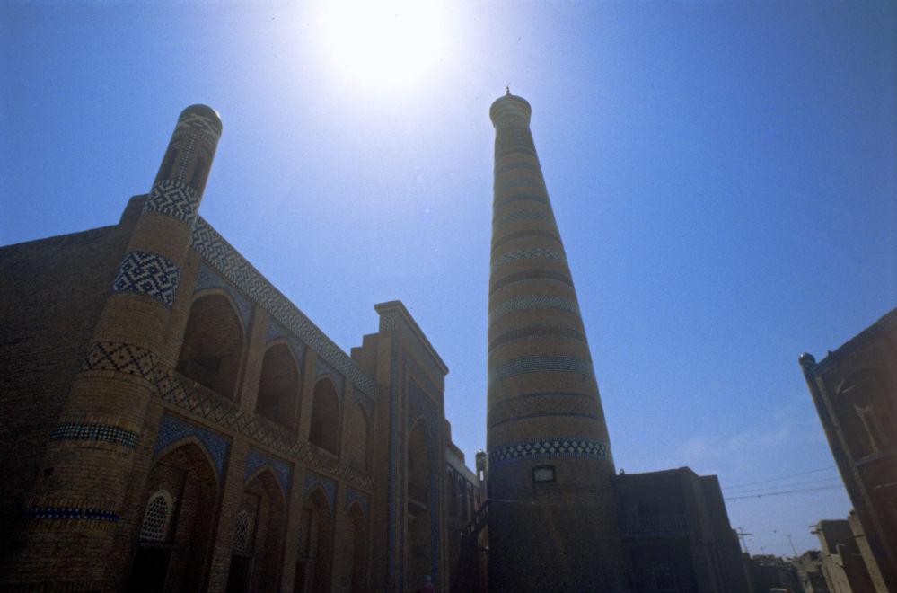 Jiva, ciudad en la República de Uzbekistán, es el centro de la región histórica de Corasmia