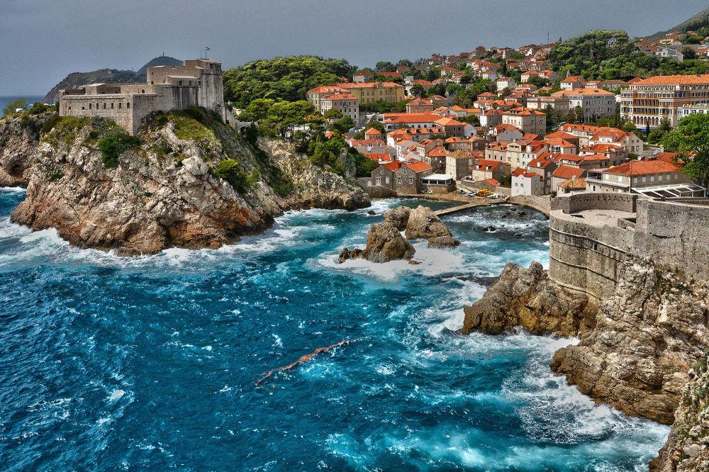 Ragusa o Dubrovnik, una ciudad en el sur de Croacia