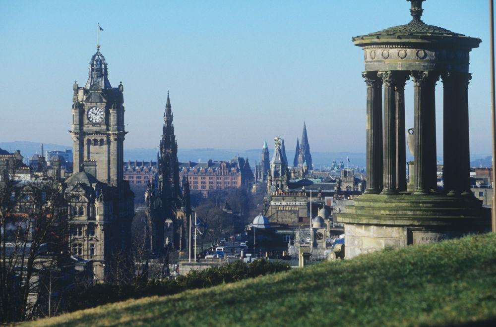 Edimburgo, la capital de Escocia