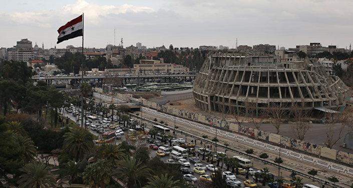 Situación en Damasco, Siria (archivo)