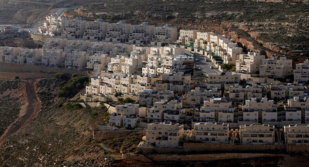 Situación en  Cisjordania (archivo)