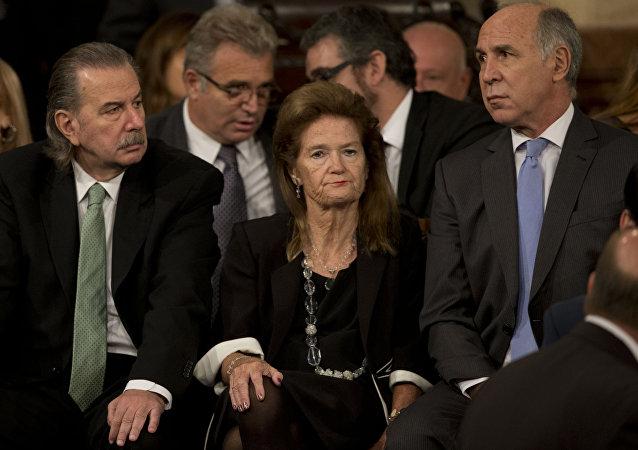 La jueza argentina Elena Highton de Nolasco