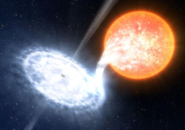 La galaxia GX 339-4