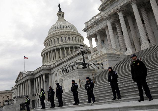 La sede del Congreso de EEUU