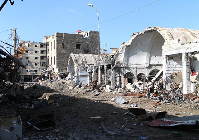 Situación en Deir Ezzor, Siria