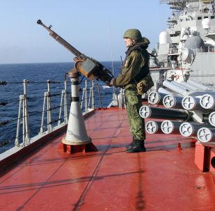 Campaña marítima de los buques de  la Flota del Norte de Rusia