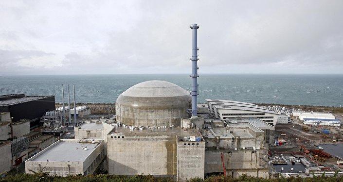 Planta nuclear de Flamanville en Francia (archivo)