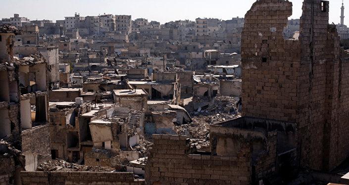 Situación en la ciudad siria de Alepo
