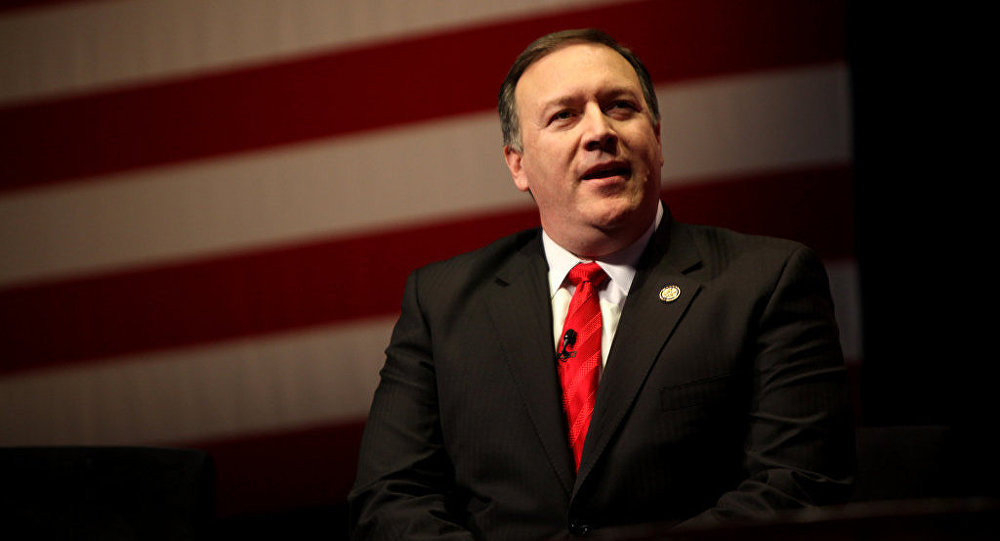 Mike Pompeo, director de la CIA (archivo)