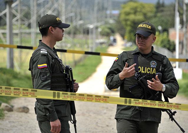 Policía de Colombia (archivo)