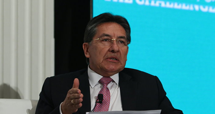 Néstor Humberto Martínez, fiscal General de Colombia (archivo)