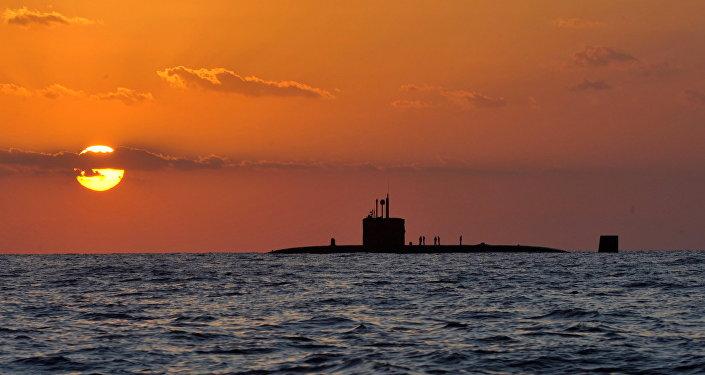 Submarino nuclear británico HMS Triumph (archivo)