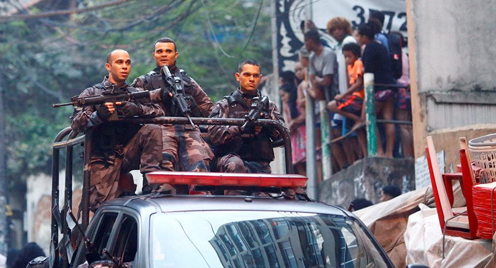 La policía de Río de Janeiro (archivo)