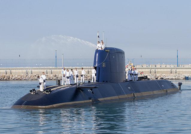 Un submarino de la clase Dolphin 2