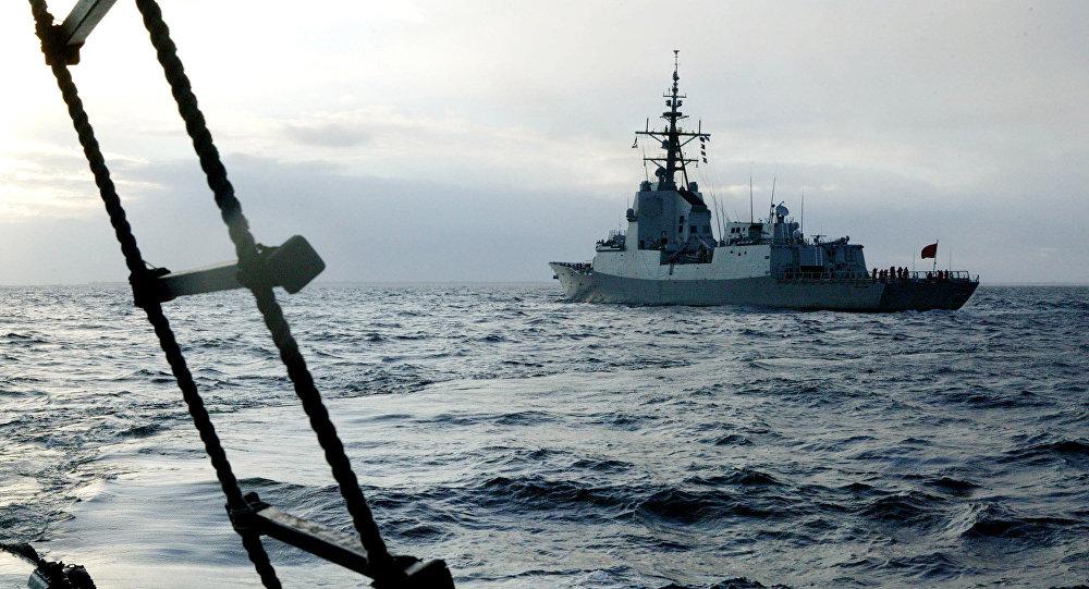 Un buque de la OTAN
