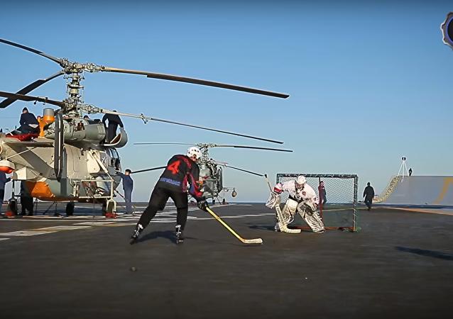Pasatiempos de los marineros de Almirante Kuznetsov