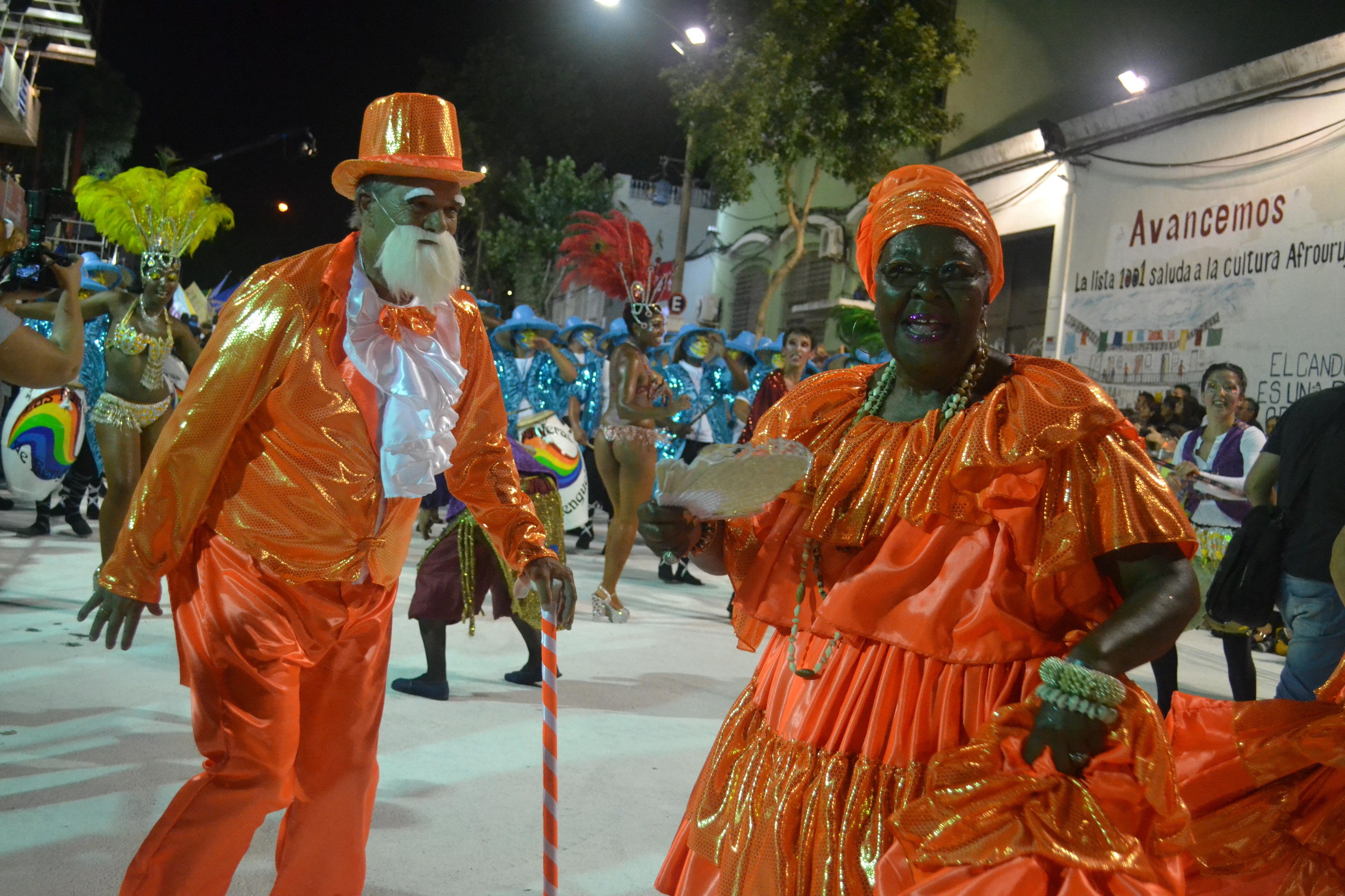 Desfile de Llamadas en Montevideo