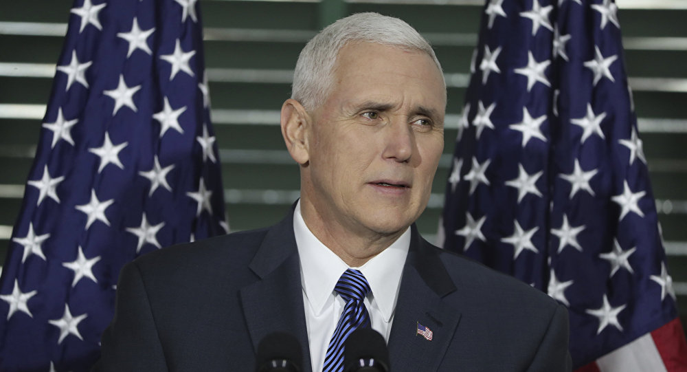 Mike Pence, vicepresidente de EEUU
