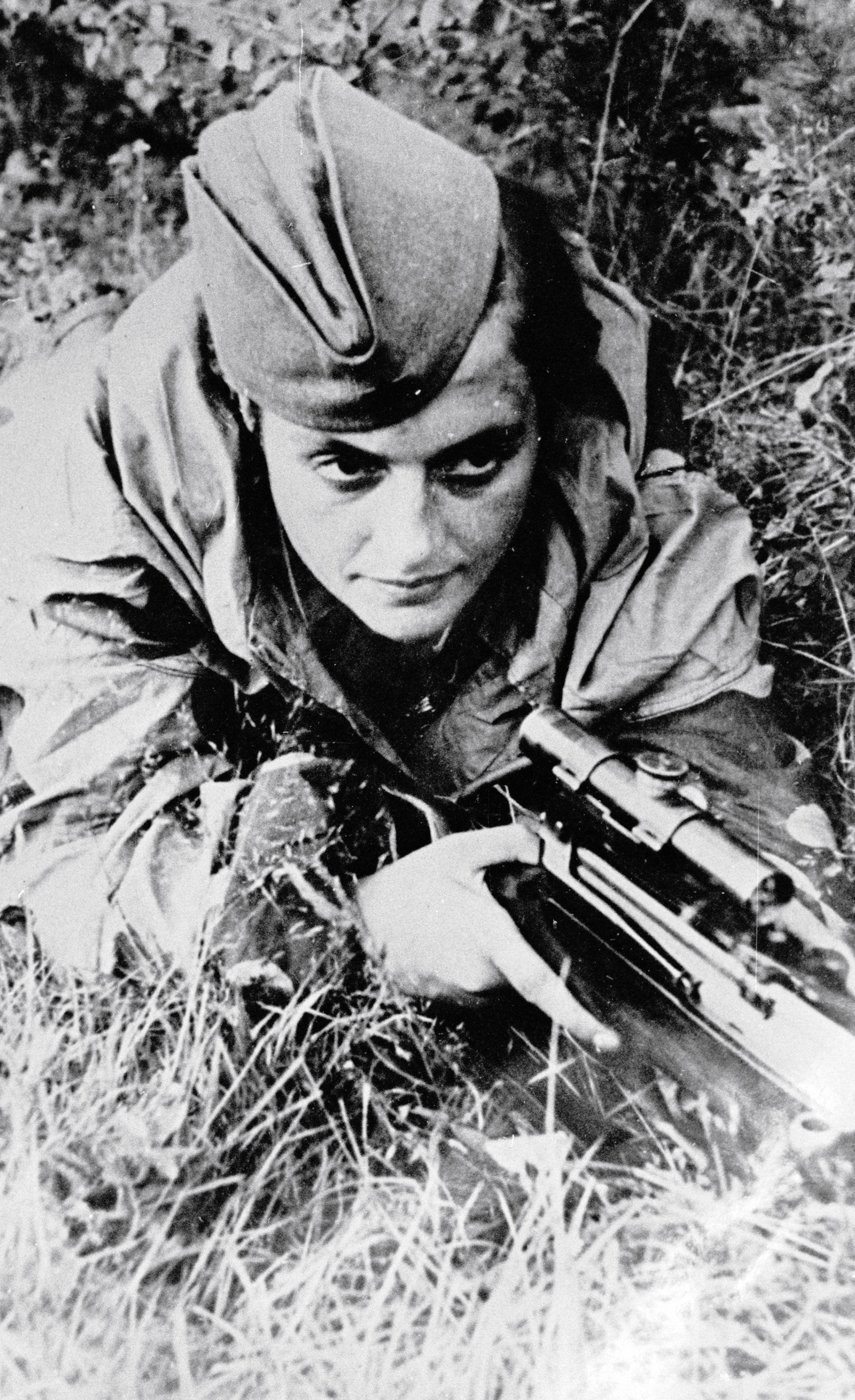 Lyudmila Pavlichenko, francotiradora soviética