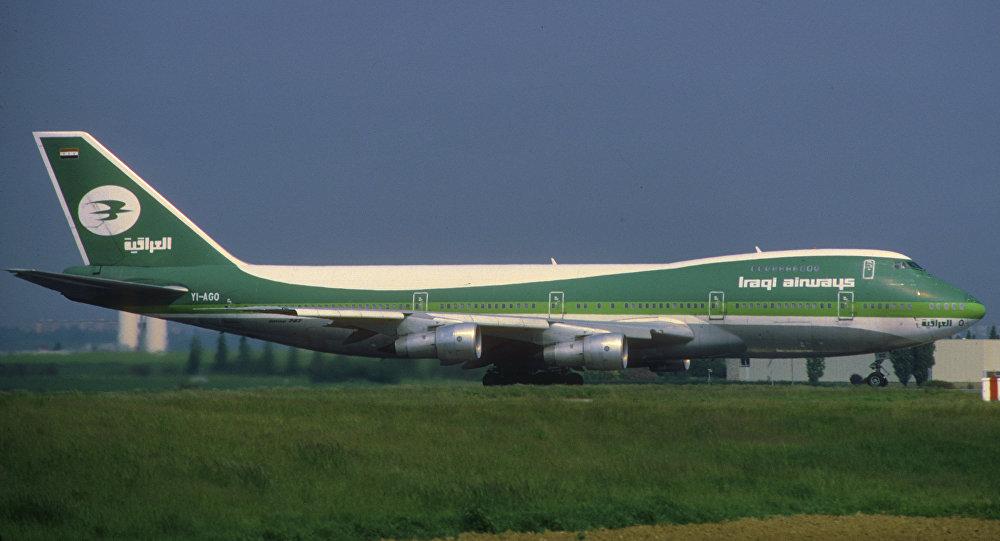 Un avión de la compañía Iraqi Airways
