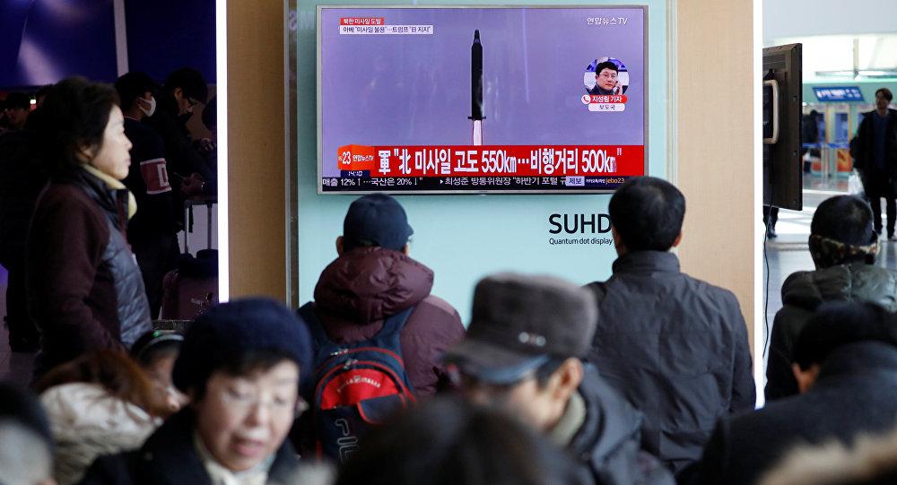 El lanzamiento de misil por Corea del Norte