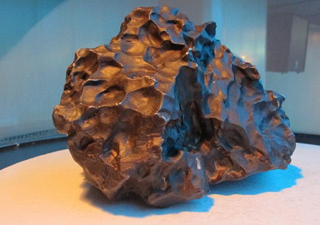 El meteorito de Sijoté-Alín