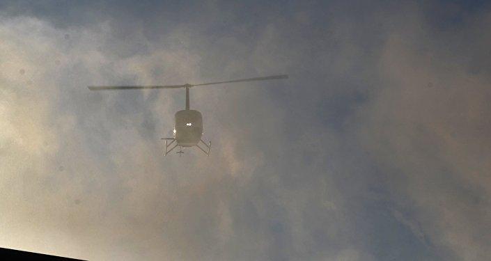 Helicóptero Robinson R-66 (imagen referencial)