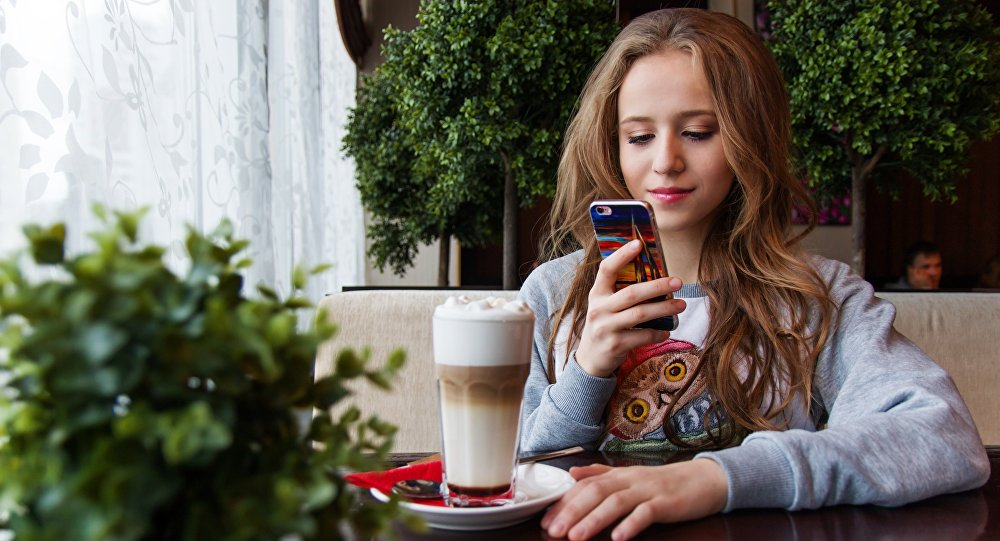 Una joven (imagen referencial)