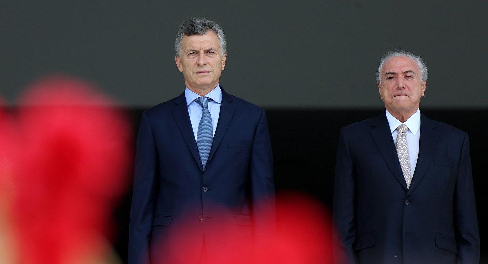 Chile y Argentina apoyarán integración entre Mercosur y la Alianza del Pacífico